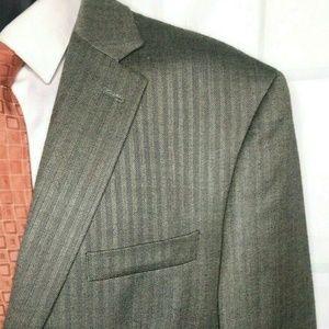 Lauren Ralph Lauren Men's 44R Silk Wool Sport Suit